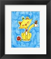 Framed Kitty Love