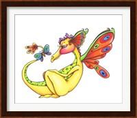 Framed Cheerful - Dragon 10