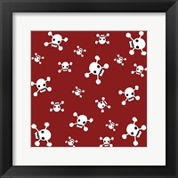 Framed Crossbones Pattern