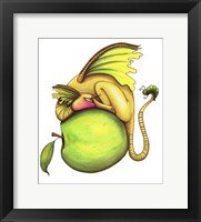 Framed Golden Delicious-Dragon