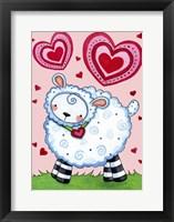 Framed Valentine Lamb