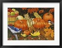 Framed Autumn Bounty
