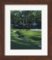 Framed Golf Course 4