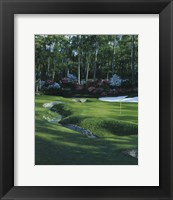 Framed Golf Course 4