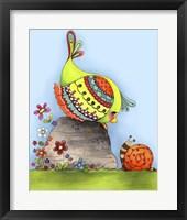 Framed Chit Chat Birdy