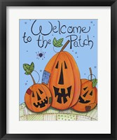 Framed Welcome to the Patch