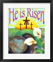 Framed He Is Risen