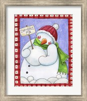 Framed Snowballs for Sale