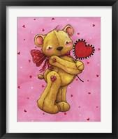 Framed Sweetheart Bear