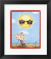Framed Fun in the Sun