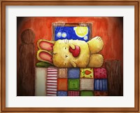 Framed Sweet Dreams Bunny
