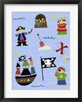 Pirates Framed Print