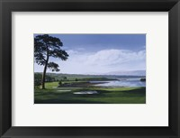 Framed Golf Course 1