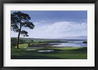 Framed Golf Course 1
