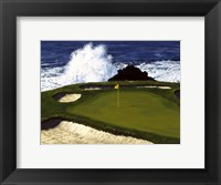 Framed Golf Course 2