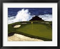Framed Golf Course 2