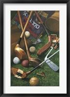 Framed Golf Antiques