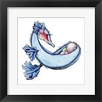 Framed Ocean Treasure - Dragon