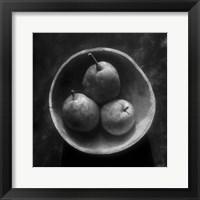 Framed Circulo de peras