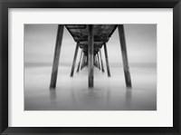 Framed Hermosa Pier 2