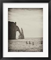 Framed Four Blue Sails