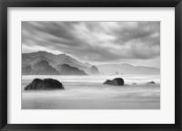 Framed Ecola Beach 1