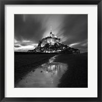 Framed St Michel Reflection