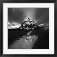 Framed St Michel Reflection