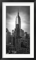 Framed Empire State vertical