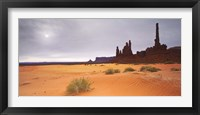 Framed Monument Valley Panorama 1