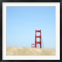 Framed Fragment Golden Gate