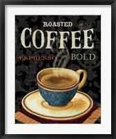 Today's Coffee IV Framed Print