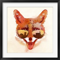 Framed Big Town Fox