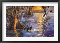 Framed Evening Wings