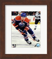 Framed Ryan Nugent-Hopkins on ice 2013-14