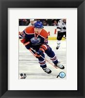 Framed Ryan Nugent-Hopkins on ice 2013-14