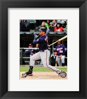 Framed Joe Mauer 2014 Action