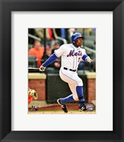 Framed Curtis Granderson running 2014
