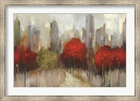 Framed Downtown Red