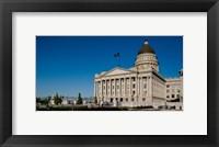 Framed Facade of Utah State Capitol Building, Salt Lake City, Utah