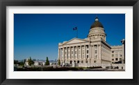 Framed Facade of Utah State Capitol Building, Salt Lake City, Utah