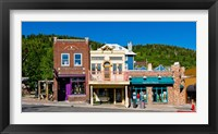 Framed Buildings along Main Street, Park City, Utah