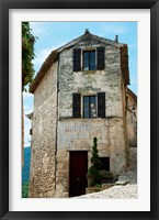 Framed Former bakery, Lacoste, Vaucluse, Provence-Alpes-Cote d'Azur, France