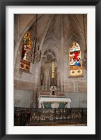 Framed Interiors of the Church Of St. Trophime, Arles, Bouches-Du-Rhone, Provence-Alpes-Cote d'Azur, France