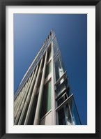 Framed Low angle view of a modern building, 2DF Building, Hamburg, Germany