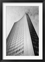 Framed Low angle view of a building, City-Hochhaus, Leipzig, Saxony, Germany