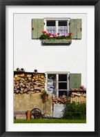 Framed Farmhouse, Lenggries, Bavaria, Germany
