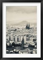 Framed Notre-Dame-de-l'Assomption, Clermont-Ferrand, Auvergne, Puy-de-Dome, France