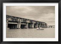 Framed World War Two-era Nazi submarine base now an art gallery, Bordeaux, Gironde, Aquitaine, France