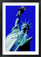 Framed Statue Of Liberty, New York City